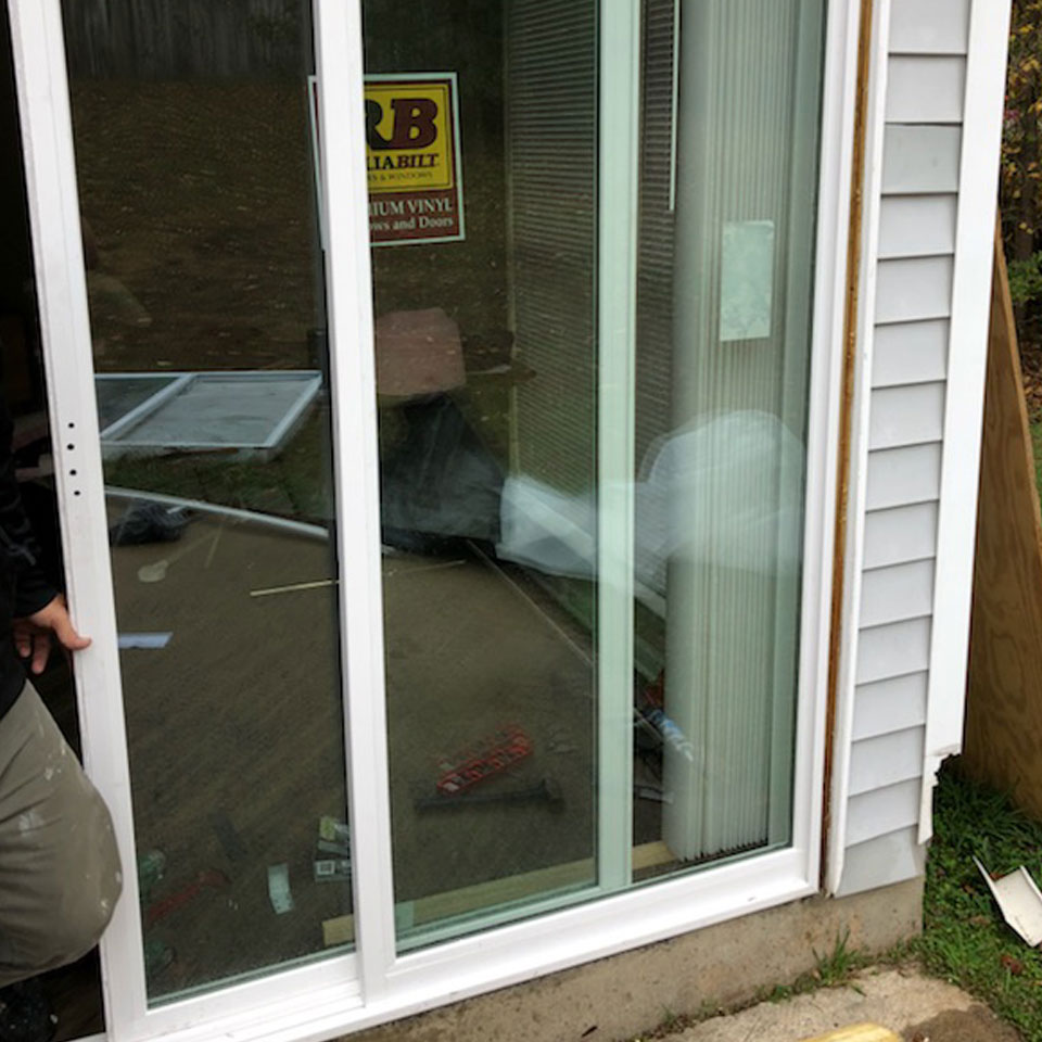 Sliding Glass Door Installation